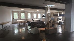 Einblick in den Co-Workingspace Freiberg (Chill out Area)